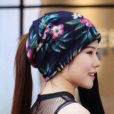 Kadınlar Etnik Stil Çok amaçlı Bere Cap Eşarp