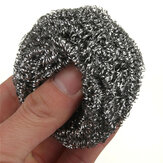 Solderen Soldeerbout Tip Cleaner Steel Cleaning Wire Sponge Ball