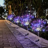 Solar Firework String Light 60/105/160 Lampu LED Outdoor Garden Party Decoration