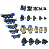 空気/水ホースおよび管のための付属品の空気のコネクターの空気押しすべてのサイズ利用できる