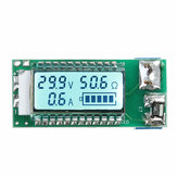 18650 26650 ليثيوم Li-ion البطارية Tester LCD Meter Voltage Current سعة