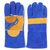 Heavy Duty Welding Gloves Leather Cowhide Protect Welder Hands 2 Sizes