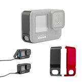 Gopro 9 Sport Kamera Metal Yan Kapak için 4.95 * 1.75 * 1cm Siyah / Kırmızı