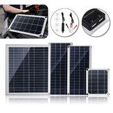 10W / 15W / 20W / 30W 18V DC Esnek Polikristal Solar Panel, USB Bağlantılı