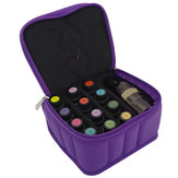 12+1 Bottles 5~15ml & 150ml Essential Oils Case Storage Holder Aromatherapy Travel Carrying Bag