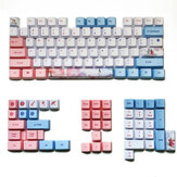 MechZone 73/125 Keys Three Lives Keycap Set OEM Profile PBT Sublimation Keycaps for Механический Клавиатуры