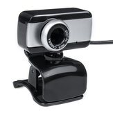 HD USB Desktop Computer Laptop Digital Full Web Camera Webcam Cam W / Microphone