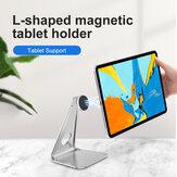 Bakeey Magsafe soporte para teléfono con tableta de escritorio soporte de aleación de aluminio soporte de transmisión en vivo de escritorio para iPad Smartphone