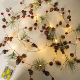 2.2m 20 LED String Light Christmas Holiday Party Decorations for Home Ornaments