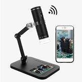 WiFi digitális mikroszkóp HD 1080P 1000X hordozható elektronikus nagyító kamera 8 LED USB mikroszkóp endoszkópos kamera gyerekeknek