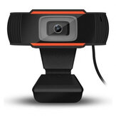 HD Webcam Auto Focus PC Web USB Camera Video Conference Cams with Microphone