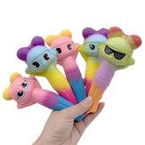 Squishy Pen Caso Cap Boneca Lento Rising Squeeze Estudante Papelaria Ornamento Presente Brinquedo Bonito