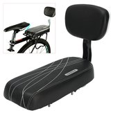 BIKIGHT Svart Sykkel Comfort Gel Bike Seat Pad Pute Cover Back Rest 13 '' Wide Saddle