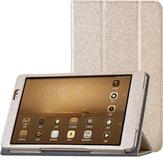 Üç Katlı Stand PU Deri Kılıf, Huawei MediaPad için M2 Tablet