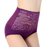 Modal High Waist Hip Shaping Stretchy Transparent Panties