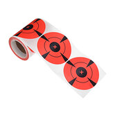 125pcs/Roll Round Adhesive Shooting Target 3 Inch Splatter Paper Wall Sticker