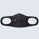 Masque respiratoire avec soupape respiratoire anti-pollution pour enfants adulte éponge antipoussière masque de sécurité filtre à particules