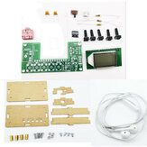 DIY Electronic Kit Rechargeable FM Stereo Digital Radio DIY Parts
