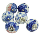 Furniture Handle Ceramic Drawer Cabinet Knobs Door Handles Cupboard Pull