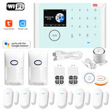 System alarmowy Tuya WIFI GSM Smart Home Security dla Google Assistat