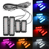 LED Car Atmosphere Lampe Satz Sound Control Interior Umgebungslicht Dekoration
