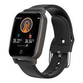 BlitzWolf® BW-HL1T Измерение температуры тела Автоматическое Сердце Оценить Монитор Погода для тренировки дыхания Дисплей BTV5.0 Smart Watch