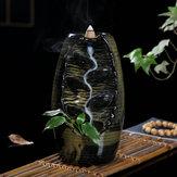 Titolare di incenso in ceramica per bruciatore in ceramica per incenso in cascata