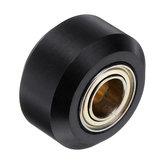 3 pcs MR105zz Pouco Tamanho Plana Tipo Polia Plástica Engrenagem Côncava Idler Com Rolamento para Impressora 3D