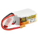 ZOP Power 14.8V 750mAh 4S 70C Lipo Batterie XT30 Prise