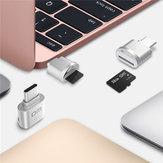 DM Mini Type-C USB 3.1 TF Card Memory Card Reader for Macbook Phone Tablet