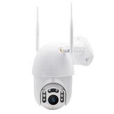 GUUDGO 8 LED 1080P Водонепроницаемы Беспроводной камера На открытом воздухе IP камера Беспроводной камера WiFi Pan / Tilt Night Vision
