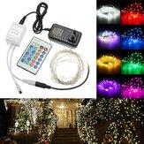 12V 10M srebrny drut LED Fairy Light Fairy Light z adapterem