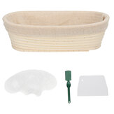 Bread Baking Tool Kits 9 Inch Banneton Proofing Basket Stencil Bag DIY Set Tools