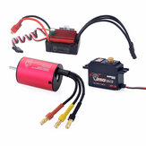 SURPASS HOBBY KK 2838 Brushless Motor 3600KV 35A Brushless ESC 25G Metal Gear Digital Servo RC Car Parts