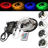 DC12V 5M 60W SMD5050 Waterproof RGB LED Strip Light + WiFi Controller + Remote Control + Adapter