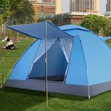 4 fő részére 2 * 2 * 1,25 M automatikus felállású családi szabadtéri kemping sátor UV-ellenálló tábori sátrak ultrakönnyű azonnali árnyékoló sátor