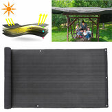2M Deck Balcony Privacy Screen HDPE Screening Fence Garden Sunshade Wall Panel