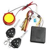 12V Motorcycle Anti Theft Alarm System Vibration Remote Control Bezpieczeństwo
