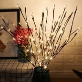 29 Inch 20LED Willow Branch Lámpara Luces florales Árbol Fiesta Decoración de jardín