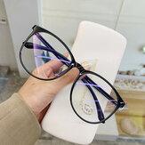 Transparent Computer Glasses Frame Women Men Anti Blue Light Round Eyewear Blocking Glasses Optical Spectacle Eyeglass
