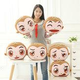 Expressão engraçada Dos Desenhos Animados Macaco Almofada Soft Almofada Do Sofá de Plush Casa Decoração Do Carro