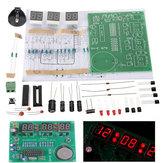 3Pcs DIY 6 Digital LED Elektronische Uhr Satz 9V-12V AT89C2051