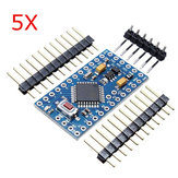 5Pcs ATMEGA328 328p 5V 16MHz PCB Compatible Nano Module Board Geekcreit for Arduino - products that work with official Arduino boards