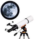 LUXUN LX-50080 20/50/60/150X Astronomische telescoop HD Zoomrefractie Hoge vergroting Ruimtemonoculaire