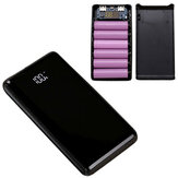 Bakeey LCD Screen Digital Display 6 x 18650 Battery Power Bank Case Shell for Mobile Phone