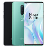 OnePlus 8 5G Global Rom 6.55 inch FHD + 90Hz Refresh Rate NFC Android 10 4300mAh 48MP Kamera Belakang Tiga 12GB 256GB Snapdragon865 Smartphone