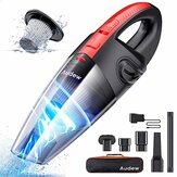 AUDEW Rechargeable 3500PA Mini Cordless Handheld Car Vacuum Cleaner for Car Home