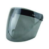3 Snap Flip Up Visor Wind Shield Lens For Open Face Motorcycle Helmet