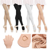 Girls Ladies Child Pink Black White Skin Ballet Tap Dance Socks Tights Pantyhose