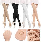 Meninas Senhoras Criança Rosa Preto Branco Pele Ballet Sapateado Meias Meias Meia-calça